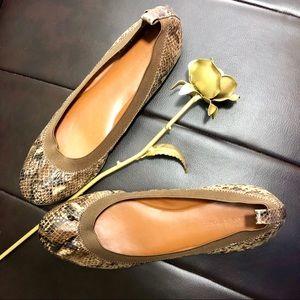 Banana Republic ballet flats 8.5 brown elastic